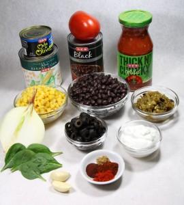 Kitchen Sink Taco Salad (Mad Sweet World)