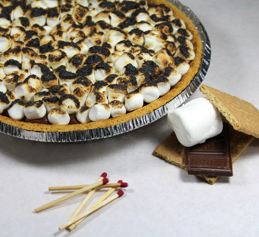 Smores Fudge Pie