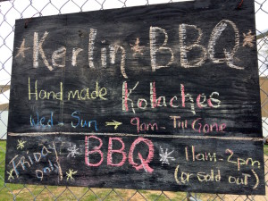 Kerlin BBQ Sign