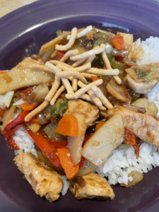 Stir-fry with Soy-Free Orange Sauce